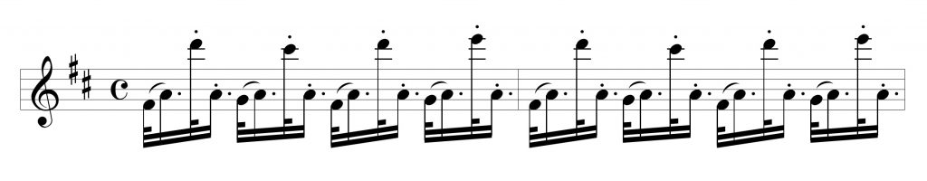 Broken rhythm B